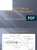 produccion  radiacion ionizante