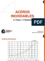 Aceros inoxidables