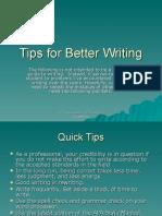 Tips for Better Writing-2[1]