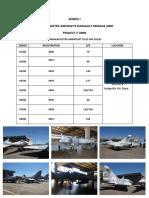 2) Annex i - List of Goods