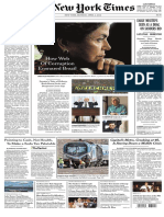 Corruption in Brazil NEW YORK TIMES
