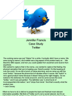 Case Study Twitter