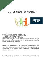 DESARROLLO MORAL Disertacion Psicologia