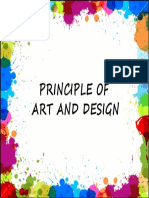 Principle of Art and Design