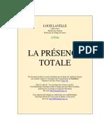 La Presence Totale - Lavelle