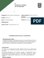 Administracion de Empresas -Finanzas Sabatino(2011)