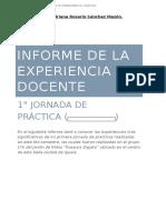 Informe- Primera Jornada