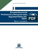 Encuesta Nacional de Victamizacion y Percepcion de Seguridad 2014