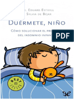 Duermete NiñoEduard Estivill