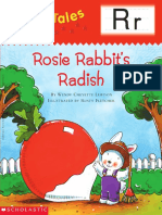 Rosie Rabbit's Radish