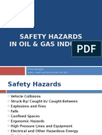 Safety Hazards in Oil and Gas Industry