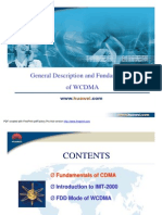 General Description and Fundamentals of WCDMA