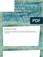 2 Project Cost Management Updated
