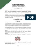 Reglamento Estatutario Modificado 2012