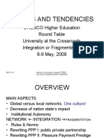 "Michael Daxner, Freie Universitat Berlin, Germany ""Trends and Tendencies, University at the Crossroads"