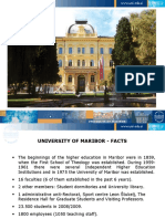 "Ivan Rozman, Rector, University of Maribor, Slovenia ""University of Maribor, a case study"""