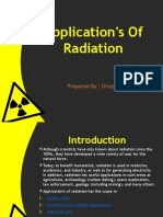 Application's of Radiation
