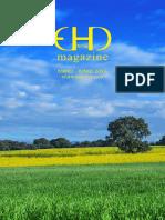 EHD magazine NÚMERO 16 - MAYO - JUNIO 2016 (pliegos)