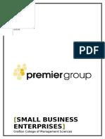 Small Business Enterprises
