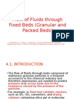 Materi 3 - Flow of Fluid Through Fixed Beds