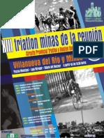 XIII TRIATLÓN CROSS MINAS DE LA REUNIÓN VVA. RIO MINAS 31-07-10