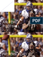 Air Force Pattern Read - Cover Three