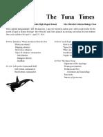 the   tuna   times