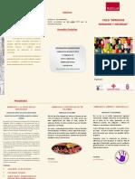 Díptico Ciclo Seminarios Derechos Humanos y Sociedad