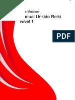 Manual Unkido Reiki Nivel 1