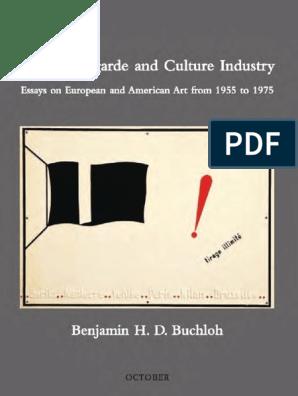 2548f8177a29 Benjamin HD Buchloh - Neo-Avantgarde & Culture Industry from 1955 to ...