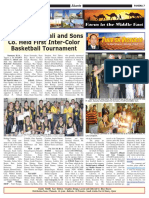 ANASCO First Inter-Color Basketball Tournament