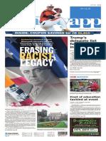 Asbury Park Press front page Sunday, May 1 2016