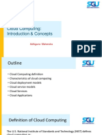 Cloud Computing - Introduction and Concept