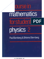 A Course in Mathematics for Students of Physics-Vol 2