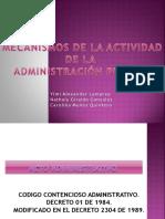 3. Mecanismos de La Actividad de La Administracion Publica