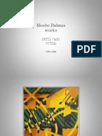 Moshe Balmas -works 2010-2016