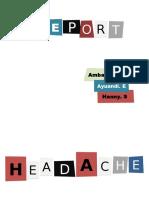 Bahasa Inggris (Headache)