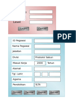 Form Interface