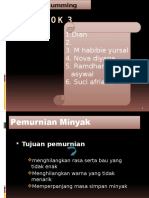 Ppt Degumming Kel 3 Fix