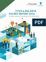 Analytics Big Data Salary Report 2016