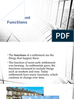 Settlement Functions