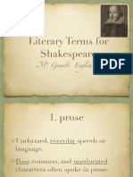shakespeare lit terms