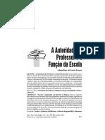 A Autoridade Do Professor e a Função Da Escola (2)