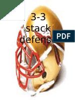 3-3 Stack Playbook by Bryan Pratt