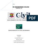 Nanotechnology in Civil Engineering - Sa