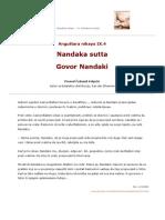 AN 09-004 Nandaka sutta -- Govor Nandaki