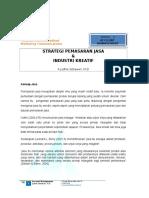 Strategi Pemasaran Jasa