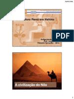 Aula 8 A Civilização do Nilo