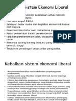 Ciri-ciri Sistem Ekonomi Liberal