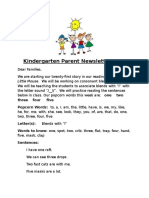 parent newsletter 21